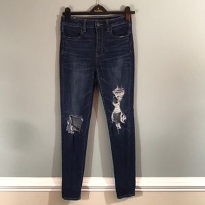 👖American Eagle Ripped Skinny Jeans👖